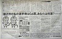 本日付日経新聞朝刊(全国版)第7面(国際面)下に意見広告が掲載されました
